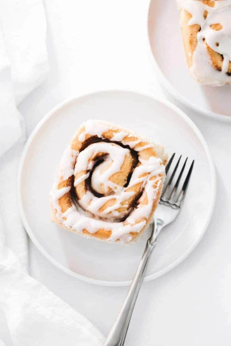 Maple Chai Cinnamon Rolls are a special twist on a classic brunch fave! Filled with warm chai spices and topped with maple frosting, these sweet rolls are sure to be devoured by friends and family this holiday season.