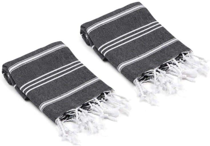 Olive & Linen Bodrum Turkish Hand Towels