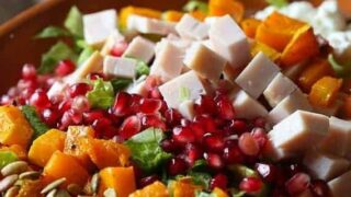Thanksgiving Leftovers Chopped Salad