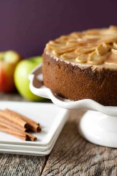 Post image for Apple Cinnamon Cheesecake