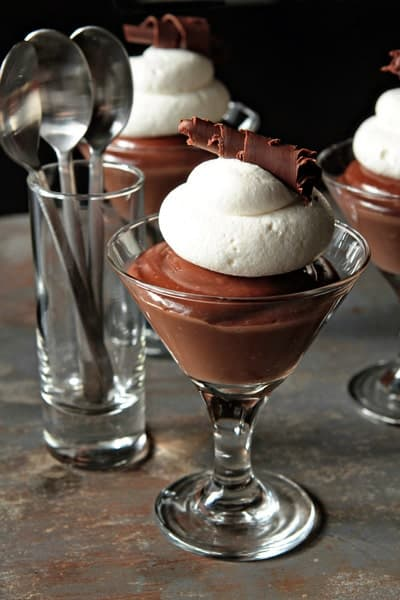 Homemade Chocolate Pudding with Baileys Irish Cream | My Baking ...