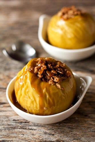 Rum-Filled Baked Apples With Oat Crumble Recipes — Dishmaps
