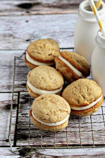 Banana Whoopie Pies {Amy Atlas Sweet Designs Giveaway}