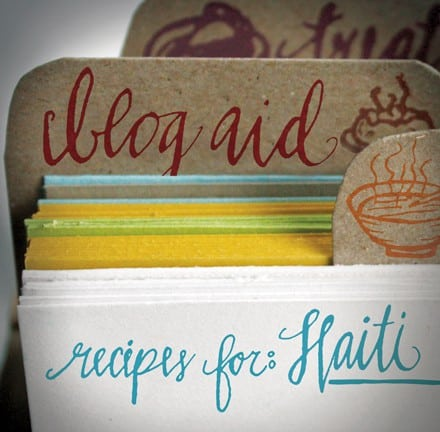 Post image for Blog Aid-Recipes for Haiti