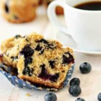 Blueberry-Lime Muffins