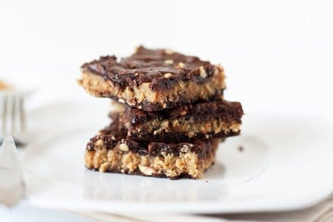 Post image for Peanut Butter Buckeye Bars