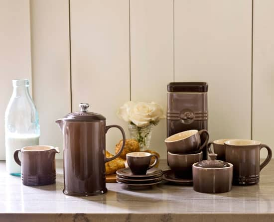 Post image for Giveaway: Le Creuset Cafe Collection in Truffle