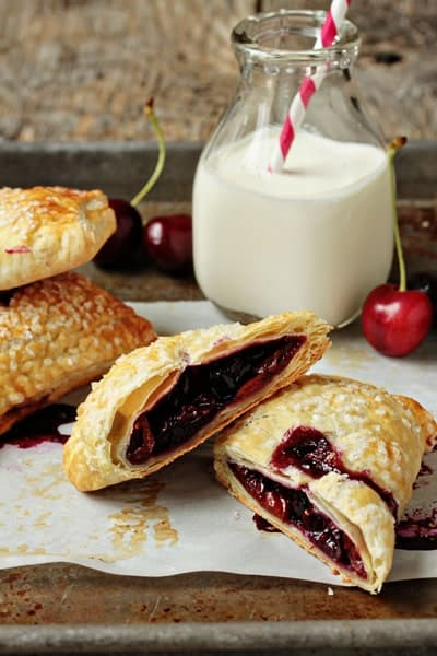 Fathers Day Recipes - Cherry Hand Pie | Homemade Recipes http://homemaderecipes.com/holiday-event/18-fathers-day-recipes-for-dads-with-a-sweet-tooth