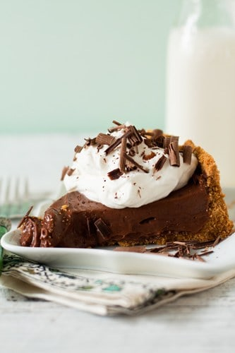 Post image for Chocolate Pudding Pie & An Interview
