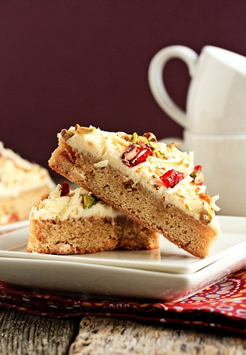 Post image for Holiday Recipe Exchange: Cranberry Bliss Bars