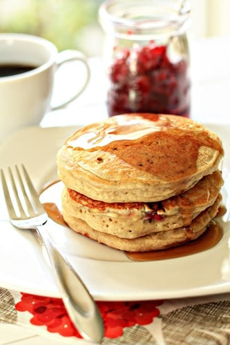 Post image for Orange-Cranberry Pancakes and A Giveaway