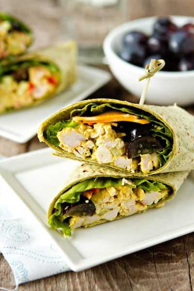 Curry Chicken Wraps Recipes — Dishmaps