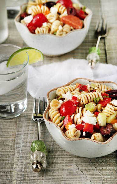 Post image for Greek Pasta Salad