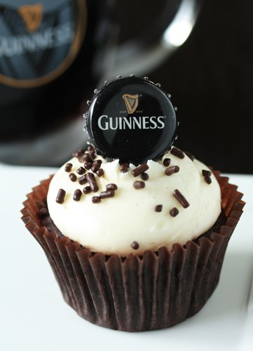 FunFavors Events: Cupcake Recipe: Chocolate Guinness Cupcakes