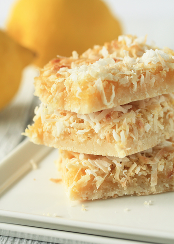 Post image for Lemon Coconut Bars