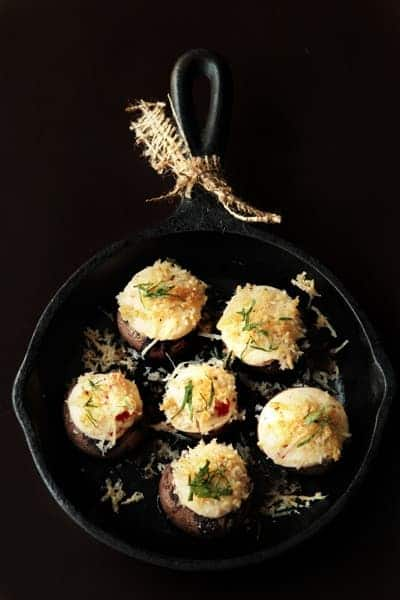 Post image for Savory Cheesy Stuffed Mushrooms