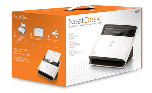 Post image for Giveaway: NeatDesk Digital Filing System
