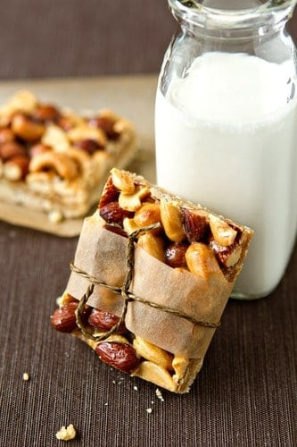 Post image for Honey Nut Bars
