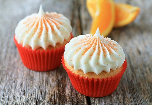 Post image for Orange Cupcakes