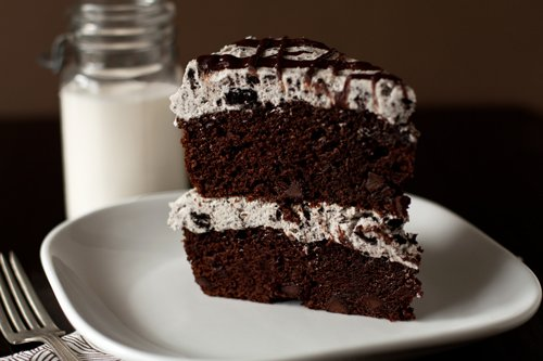 Oreo Chocolate Cake The scrumptious oreo cake is