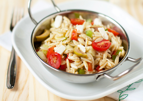 Post image for Greek Orzo Salad