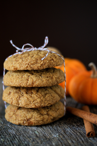 Post image for Holiday Recipe Exchange | Pumpkin Molasses Cookies