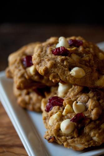 Post image for Pumpkin Oatmeal Cookies
