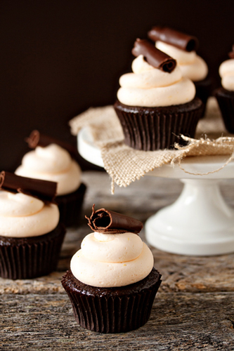 Post image for Grand Marnier Cupcakes