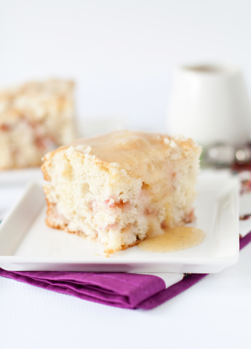 Post image for Rhubarb Streusel Cake