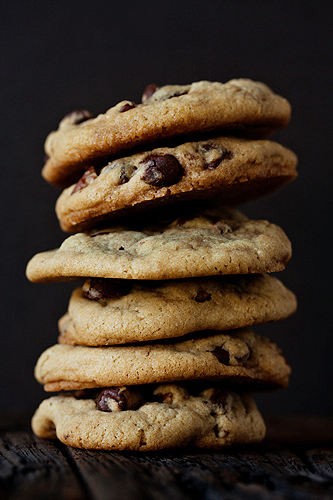 Post image for Rolo Chocolate Chip Cookies