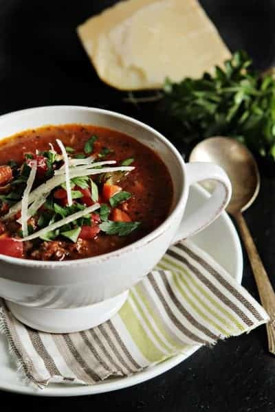 Post image for Sausage and Lentil Soup