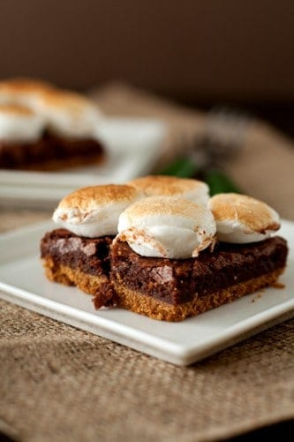 Post image for S'mores Brownie Bars