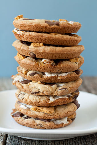 Post image for Giant S'mores Cookies