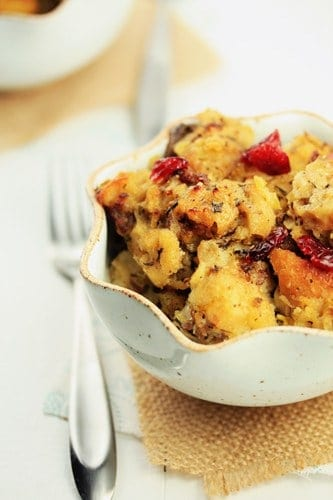 Post image for Holiday Recipe Exchange: Sausage-Cranberry Stuffing