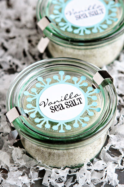 Post image for Homemade Gift Idea: Vanilla Sea Salt