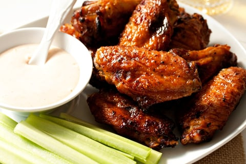 Sweet And Spicy Baked Chicken Wings Recipe My Baking