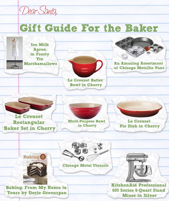 Post image for Holiday Gift Guide and Giveaway: For the Baker