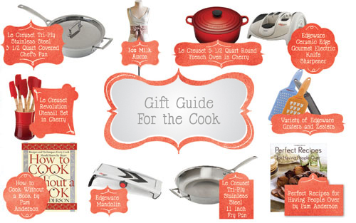 Post image for Holiday Gift Guide and Giveaway: For the Cook