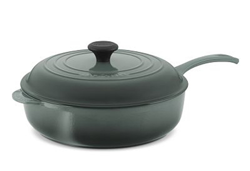Post image for Giveaway: Le Creuset 4 ¼ Qt Deep Saute Pan in Ocean