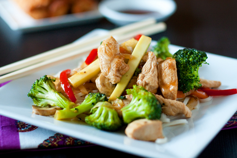 Post image for Chicken Stir Fry & Egg Rolls